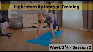 HIIT - Week 3&4 session 2 (mHealth)