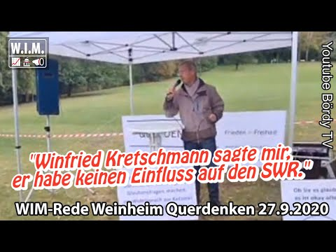 Rede Jürgen Felger Weinheim Querdenken: