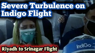 ✅Passengers Scream in Terror and Cry as Indigo Flight battered by Severe Turbulence on 11 Jul 20  |✈