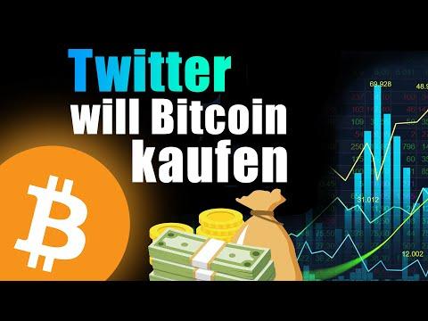 Twitter WILL Bitcoin in seine Bilanz aufnehmen (Bitcoin auf Höhenflug)