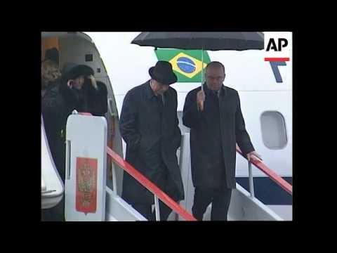 Brazilian vice-president arrives for visit