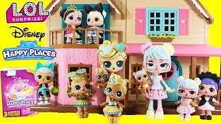 LOL Surprise Decorate Home Disney Happy Places Cinderella, Belle, Minnie Mouse Home Decor