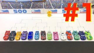 Disney Pixar Cars 3 Grand Prix : Race : First preliminaries : TOMICA