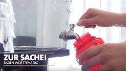 Geiz ums Leitungswasser   Zur Sache Baden-Württemberg!