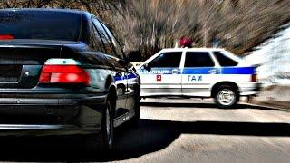 Супер погоня полиции за автомобилем нарушителя!