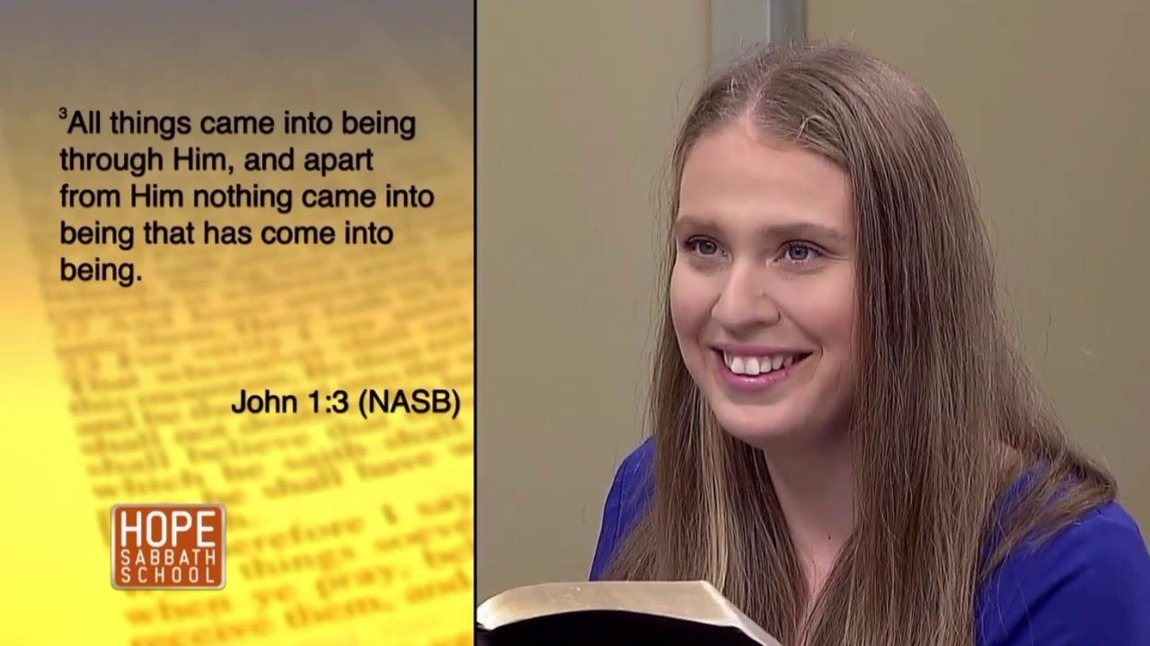 Hope Sabbath School Lesson 8 Creation  Genesis As Foundation Part 1