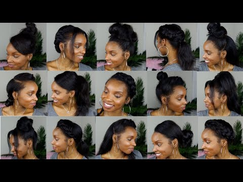 15 HAIRSTYLES FOR STRAIGHT NATURAL HAIR
