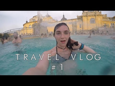 FIRST TIME SOLO TRAVELING to Budapest - Travel Vlog #1