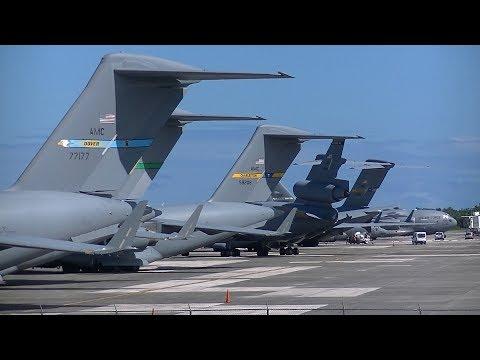 TJSJ Spotting: G-20 Summit Backup Military Aircraft! Part 1