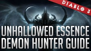 Unhallowed Essence Lightning Demon Hunter Guide GR 60+ (Patch 2.2)