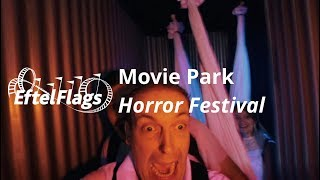 Engste halloween OOIT! SCREAM CAM! Movie Park Halloween Horror Festival 2018