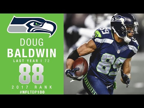#88: Doug Baldwin (WR, Seahawks) | Top 100 Players of 2017 | NFL