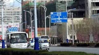 内蒙古包头市昆区钢铁大街街景 (Baotou City in Inner Mongolia)