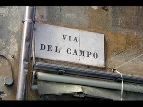 Fabrizio De Andrè  Via del Campo