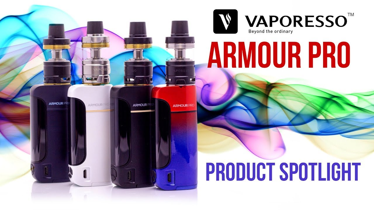 Vaporesso Armour Pro Kit | Simplicity, Power and Style | Mt Baker Vapor