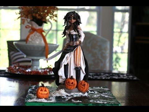 McGreevy Cakes Sugar She-Pirate Description and Progress Pic