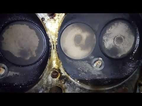 Трещины между клапанами, что с ними делать