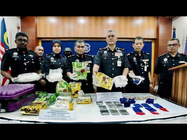 Dua lelaki ditahan bersama syabu bernilai RM700,000