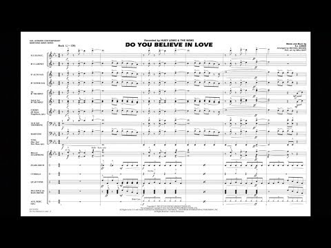 Do You Believe In Love by R.J. Lange/arr. Michael Brown
