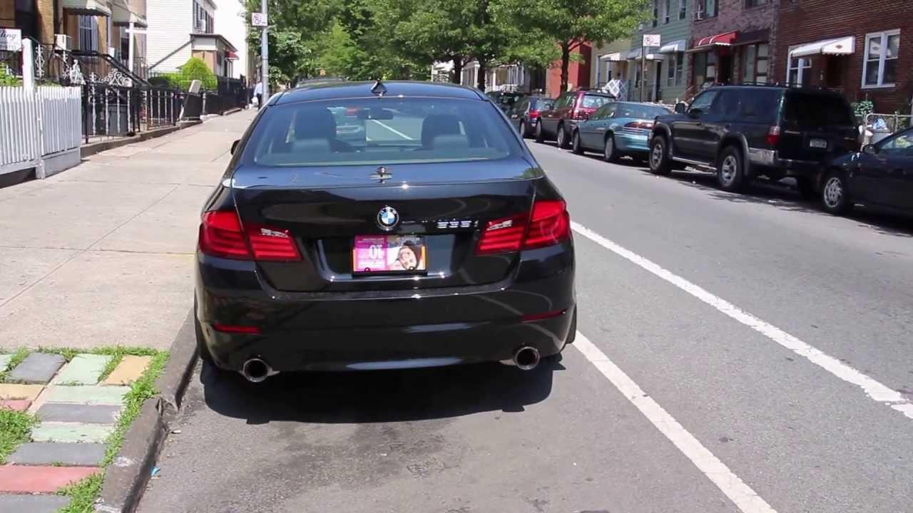 2012 BMW 535i with custom Magnaflow axleback exhaust (Take ...