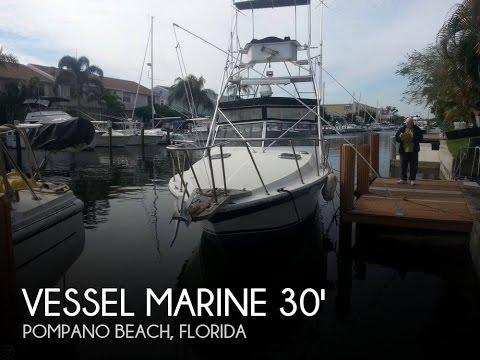 [UNAVAILABLE] Used 1986 Vessel Marine 30 Sportfisherman in Pompano Beach, Florida