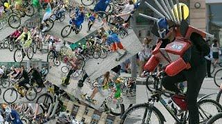 Лица велопарада: Пиксель, Единорог и Бабовуха, Айседора, Оптимус Прайм, Цветочек и другие в 4k