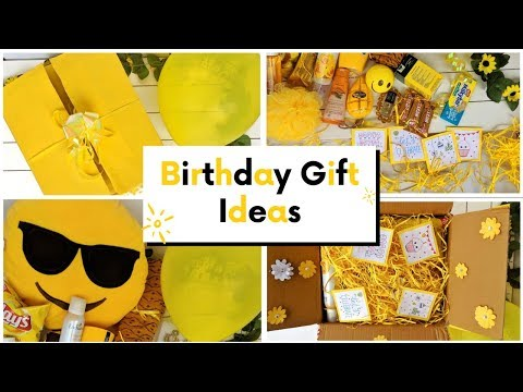 Birthday Gift ideas Box for Girls under Rupees 200 || Yellow Theme Gift Ideas || Buy gifts online