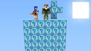 LUCKY BLOCK DO DESTINO l MINECRAFT ILHA LUCKY BLOCK