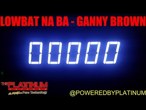 Lowbat Na Ba - Ganny Brown (PH Karaoke)