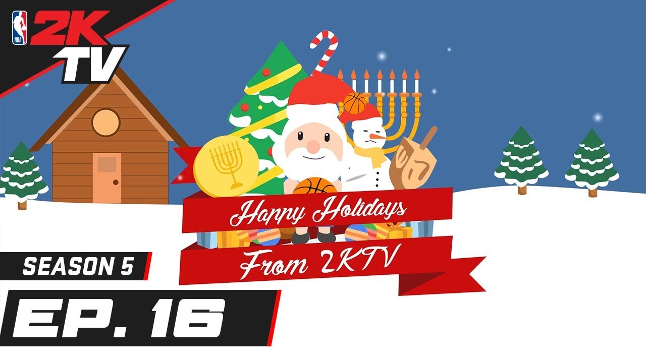2KTV Holiday Special ft. Shaq, Bill Simmons, & NBA Stars! - NBA 2KTV S5. Ep.16