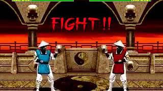 Mortal Kombat 2 - Rayden (Sega Genesis) (By Sting)