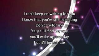 Madonna - Hung Up, Lyrics In Video