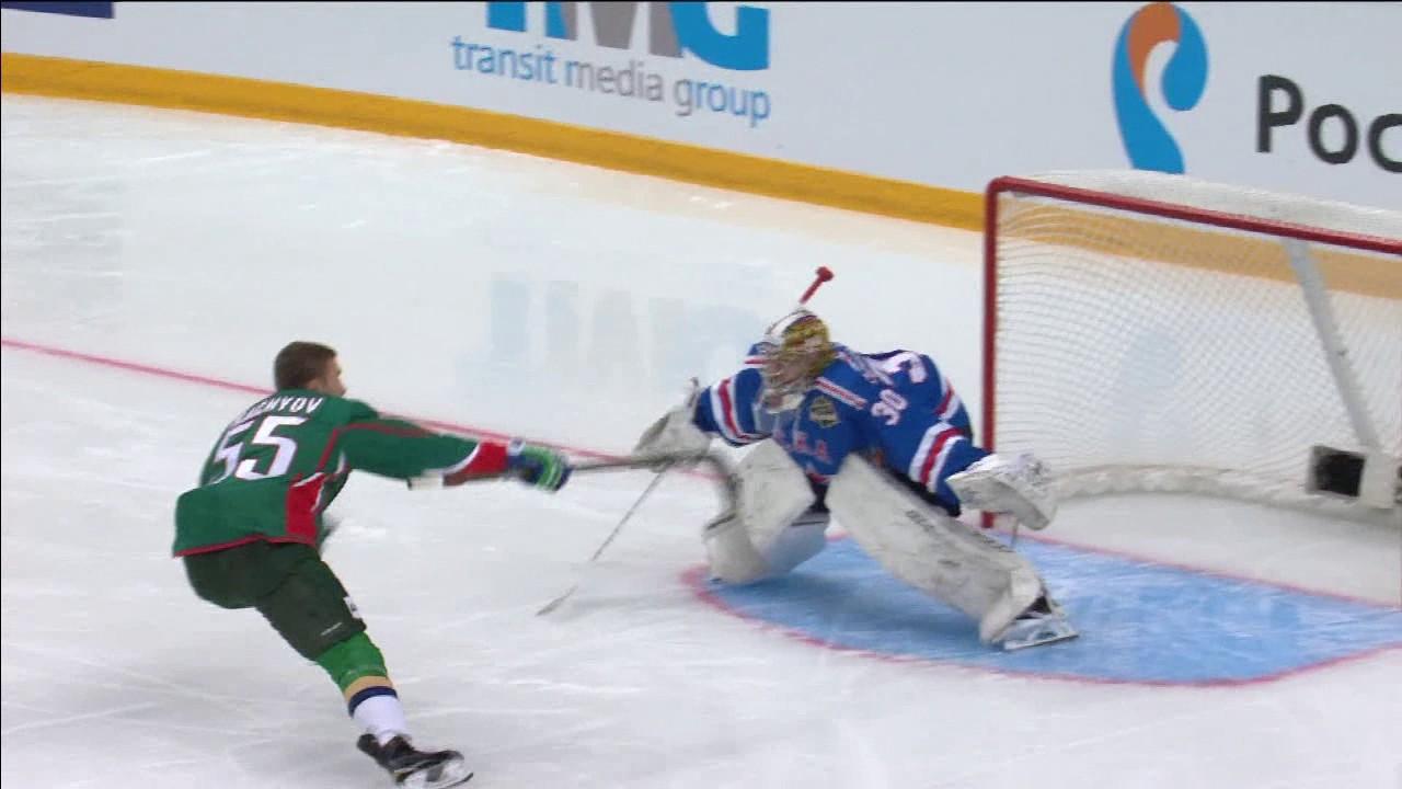 Красивый буллит Ткачёва на Матче Звезд КХЛ