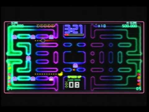 Pac Man Demo Gameplay Xbox 360
