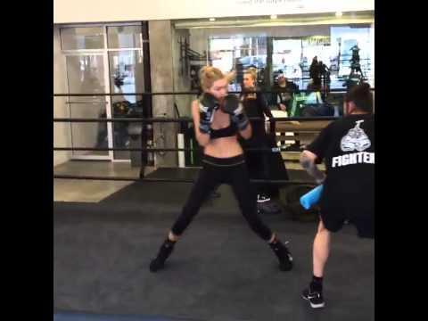 Gigi at Gotham Gym
