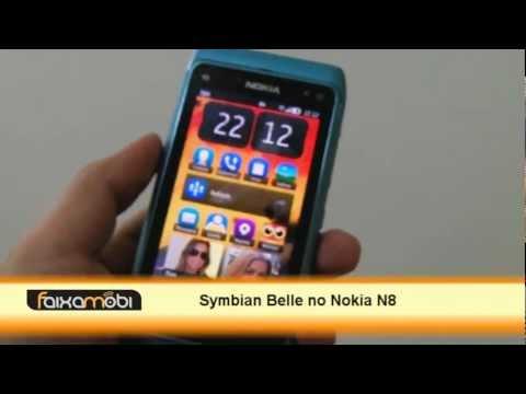Primeiro contato com o Symbian Belle no Nokia N8