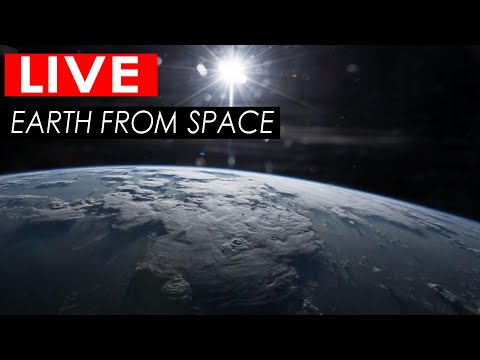 NASA Live Stream - Earth From Space | ISS LIVE FEED : ISS Tr