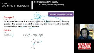 [1.3.3 Ex.5&6] #Mathematics-3 - SOLVE PROBLEMS ON PROBABILITY