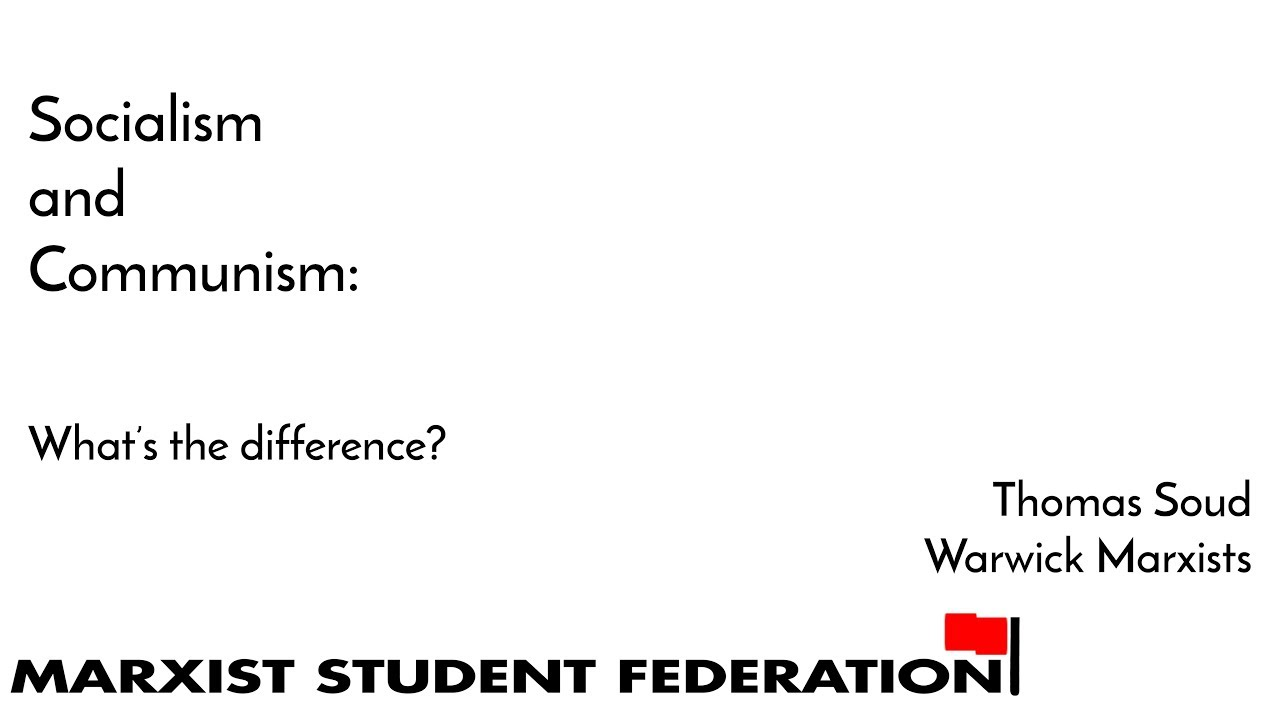 an analysis of the differences between communism and socialism The primary difference between communism and socialism is that communism is a political system and socialism is chiefly an economic system communism focuses on putting the working class in charge of society by having the government control the means of production, whereas socialism.