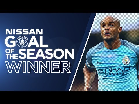 MAN CITY GOAL OF THE SEASON WINNER! | Vincent Kompany