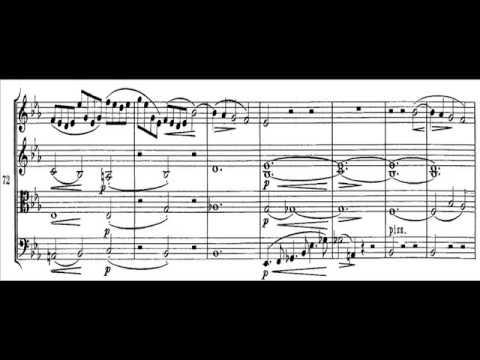 Brahms - Cuarteto para cuerdas op. 51, nº 1. I Allegro (1ª parte)