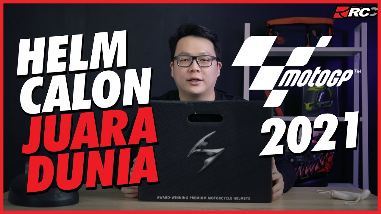SCORPION EXO R1 AIR FABIO MONSTER REPLICA, Helm Calon Juara Dunia MotoGP 2021! - RC Unboxing -
