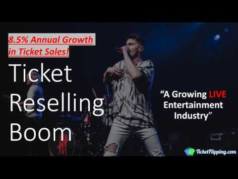Ticket Reselling Boom: A Growing LIVE Entertainment Industry