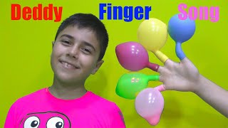 Daddy Finger Family song | 동요와 아이 노래 | 어린이 교육 | Guka pretend plays with his magic balloons