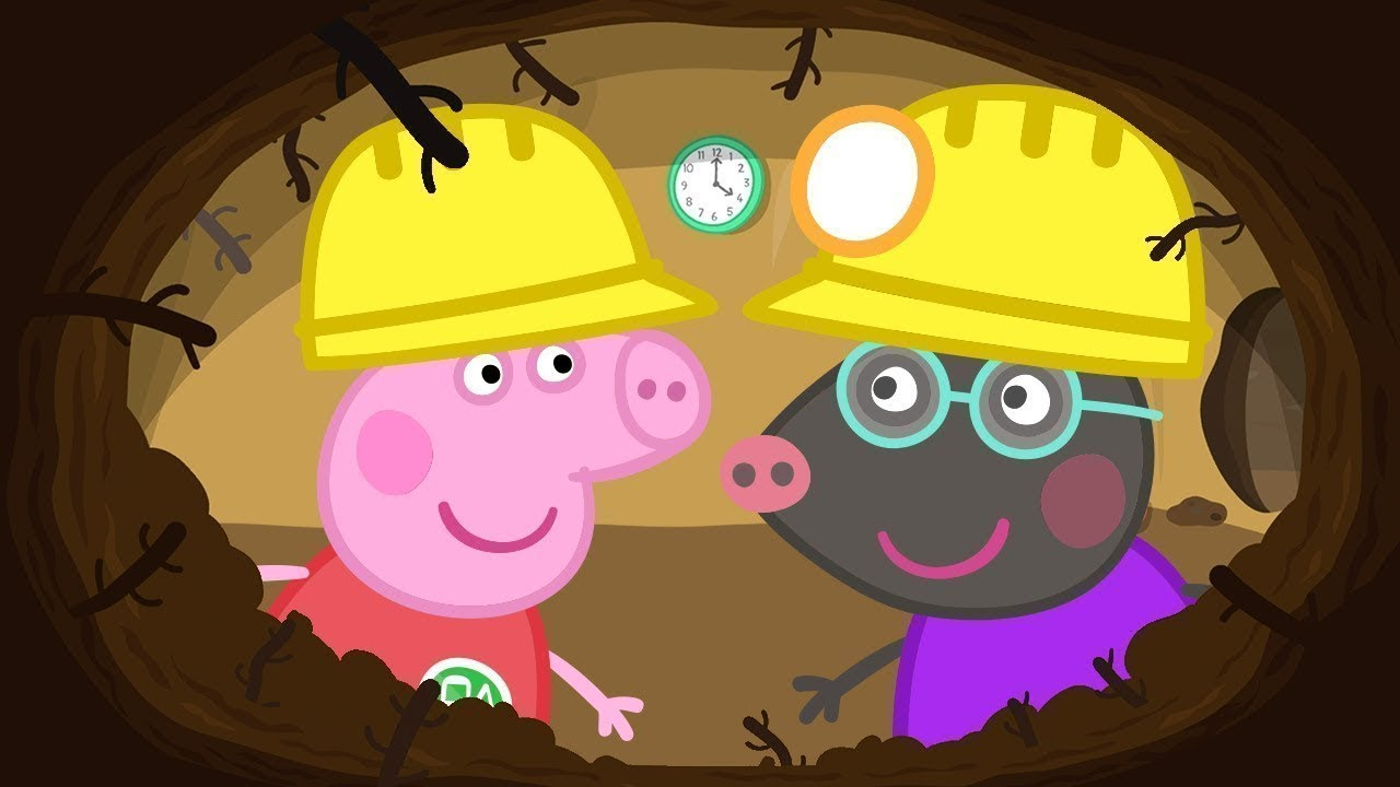 Peppa Pig Full Episodes   Molly Mole   Cartoons for Children
