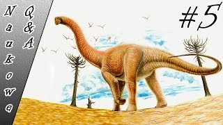 Jak długo żyły dinozaury? Największe zwierze na Ziemi. Elektromobilność - NaukoweQ&A #5