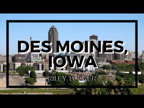 DES MOINES, IOWA Official Music Video (HQ)