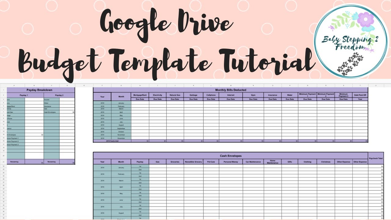 Budget Template Tutorial