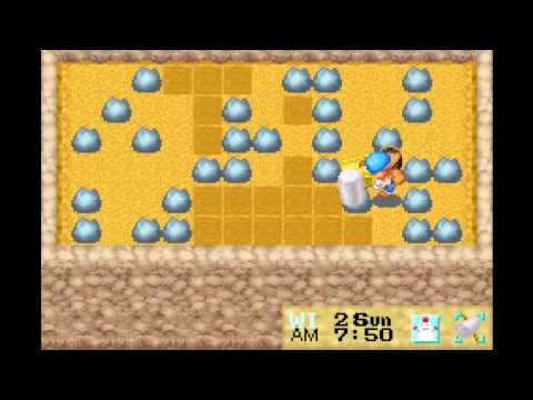 """Let's Play Harvest Moon:Friends of Mineral Town Ep.50 """"Winter Mines"""""""