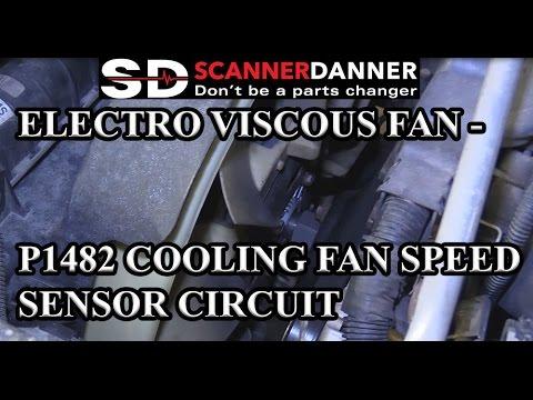 Electro Viscous Fan - P1482 Cooling Fan Speed Sensor Circuit